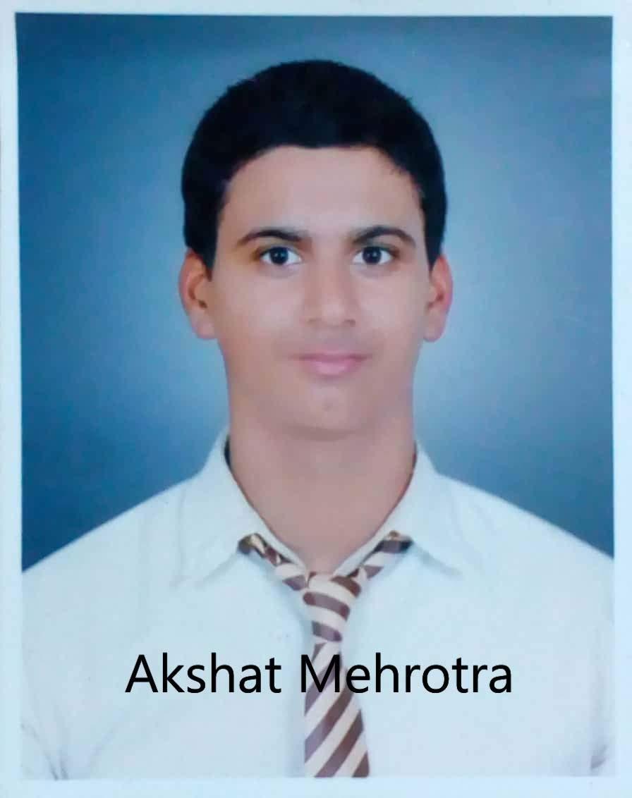 Profile picture of AKSHAT MEHROTRA