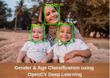 Gender and Age Detection